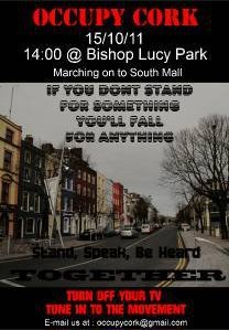 Oct 15 Cork - 14.00 @Bishop Lucy Park - Marching on to South Mall