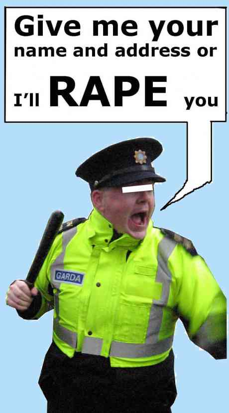 'Give me your name and address or I'll rape you' - CORRIBGATE