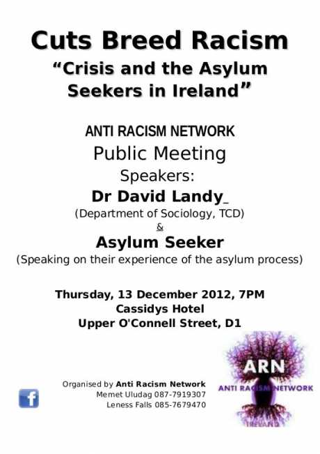 Public Meeting: Cuts Breed Racism