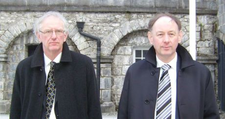 Norman and Hubert Daniels following the guilty plea by John O' Reilly at Kilkenny Court