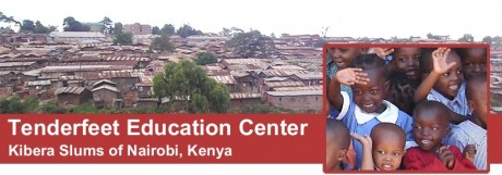 Tenderfeet education centre, Kibera slums of Naorobi, Kenya