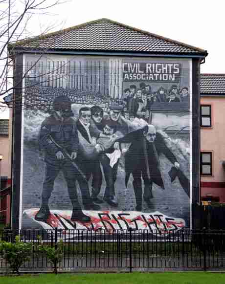 30th of January 1972, 26 civil rights activists were shot dead. 38 years later Justice came to Derry