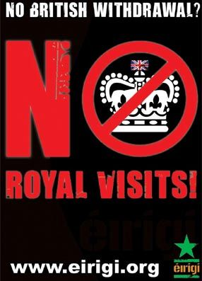 No British Withdrawal? No Royal Visits!