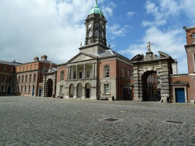 Dublin Castle, Justice sitting on the right