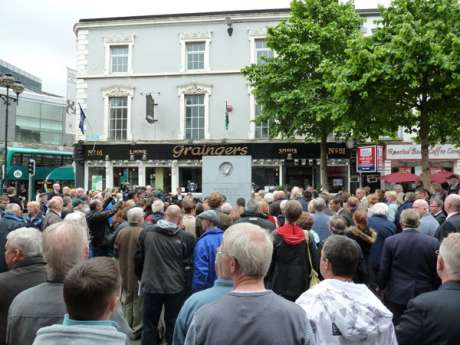 Talbot Street Memorial, 11.30am, !7th May 2011