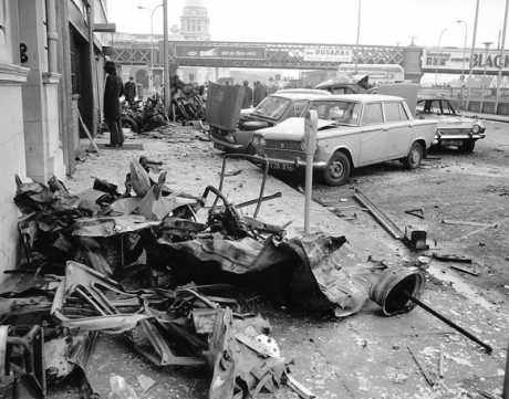 Aftermath of Eden Quay bomb, copyright the respective owner
