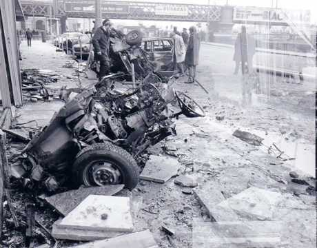 Another pic of the aftermath of the Eden Quay bomb, copyright the respective owner