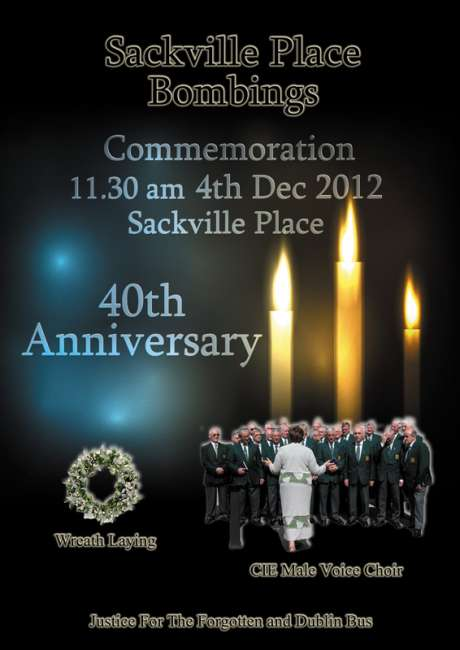 Poster showing the CIE Male Voice Choir.