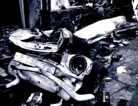 Aftermath of December 1972 bomb on Sackville Place, copyright the respective owner