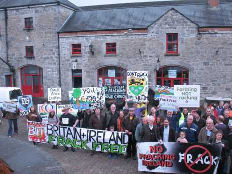 Global Frack Down Day Market yard Carrick-on-Shannon