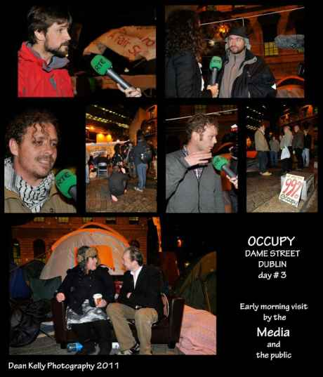 #OccupyDameStreet - We are being listened to by RTE