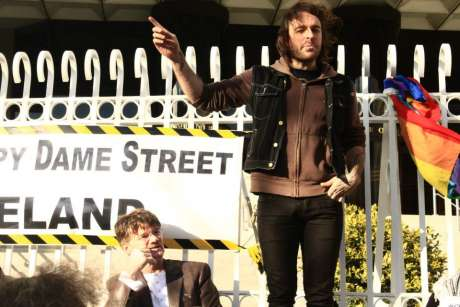 #OccupyDameStreet - we are the punky