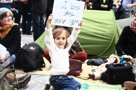 #OccupyDameStreet - we are the young