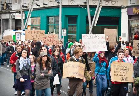 #OccupyCork: @1000 take to the streets of the PEOPLES REPUBLIC