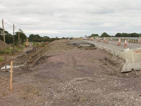 Cars drive over Sacred burial Ground at Collierstown